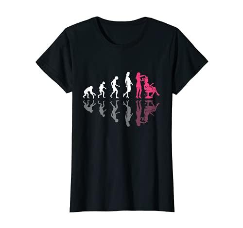 Mujer Evolution Hairstylist Rizador de pelo Stylistin Stylistin Camiseta