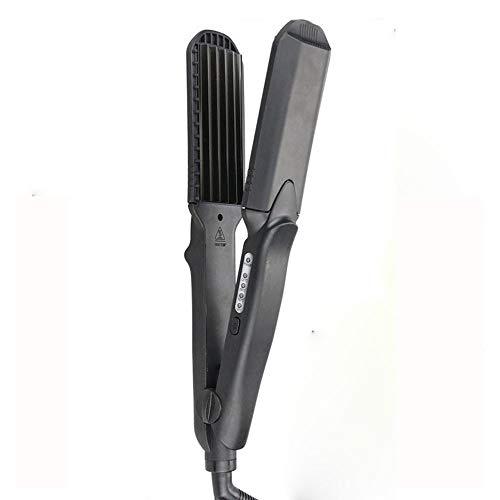 Cuatro En Una Placa Plancha De Pelo De La Barba Del Maíz Aire Bangs Plate No Perm Pelo Recto De Cerámica Placa Hair Salon Dedicado...