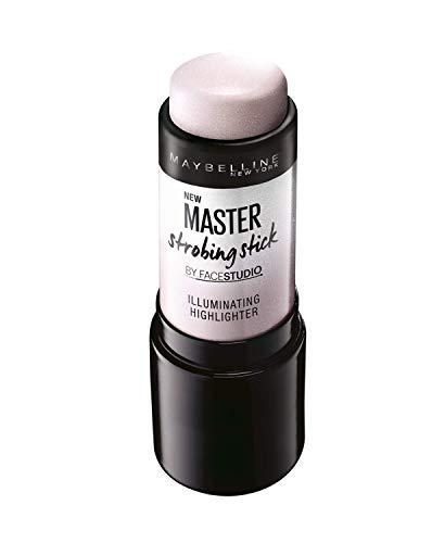 Maybelline New York - Master Strobing Stick Iluminador para Pieles Claras, Tono 100 Light