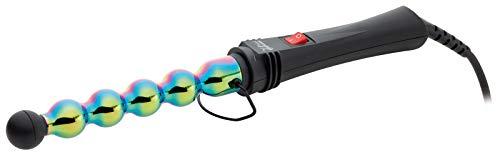 GAMMAPIU' Rizador Onduladores De Pelo Plancha Profesional Iron Bubble Rainbow, Ondas Anchas Y Estrechas, Punta Resistente Al Calor,...