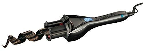 Macom Smart Twist - Rizador de cabello, con pantalla, 140 - 230° C, color negro