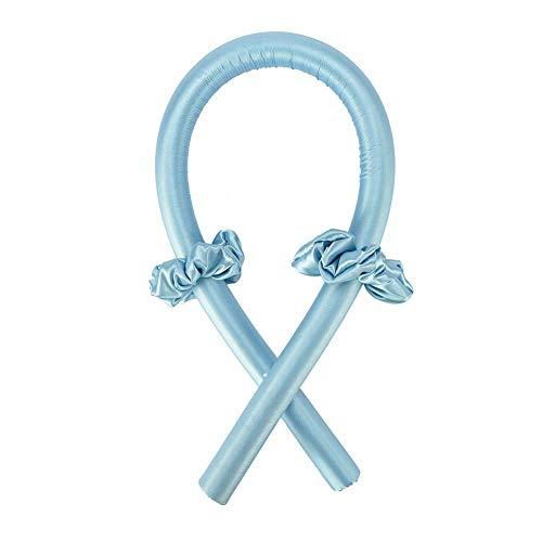 Rizador de espuma flexible para rizar, sin calor, con bucles para el cabello para mujeres y niñas, pelo largo, corto, onda suave