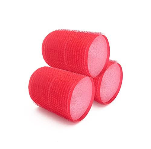 NIKO - Rodillos autoadherentes de 50 mm con esponja para dormir, rizadores de pelo para rizos y ondas extra suaves, herramienta de peinado...