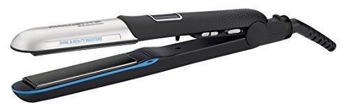 Rowenta Liss & Curl Ultimate Sunshine SF6220E0 - Plancha de pelo con doble salida Iónica, placas aluminio con recubrimiento de...