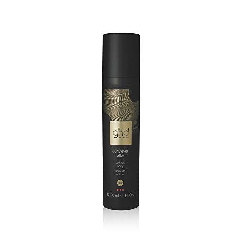 ghd curly ever after - spray profesional para fijar y crear rizos y ondas con plancha de pelos y rizadores, 120ml