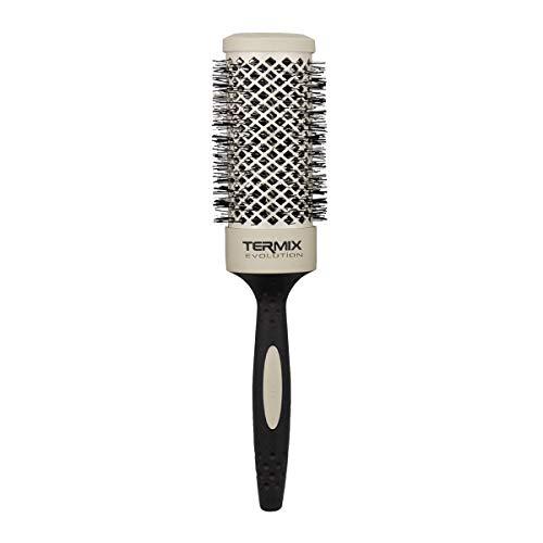Termix Evolution Soft Ø43- Cepillo térmico redondo con fibras especialmente diseñadas para cabellos delicados. Disponible en 8 diámetros...