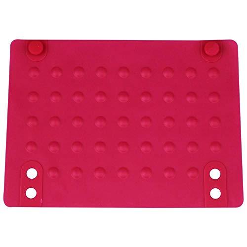 Uteruik Esterilla de silicona resistente al calor anticalor para alisador de pelo rizador 215 x 165 cm, 1 pieza (bn-#3)