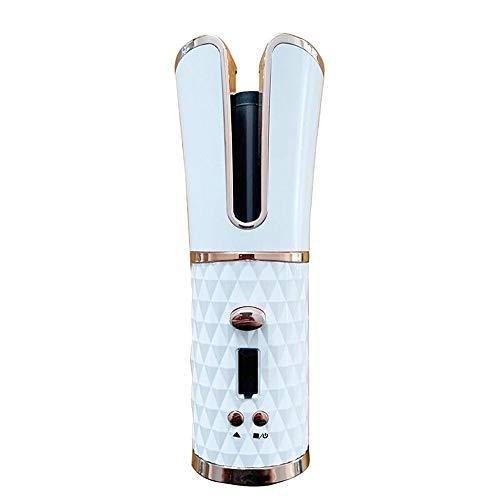 Rizador de Pelo Automático Inalámbrico, Pantalla LCD y Temporizador, 6 Temperaturas Ajustables, Rizador de Cabello con Cerámica de...