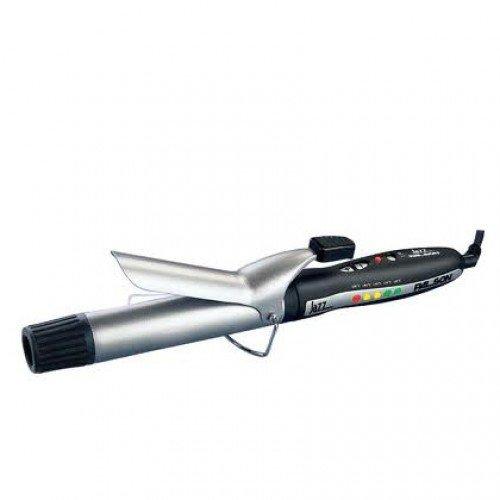 Palson 30631 Jazz - Moldeador-Pinza Rizadora Pelo, Cerámica, 32Mm, Cable 2.8M, Selector Temperatura Electrónica, Con Indic. Luminoso,