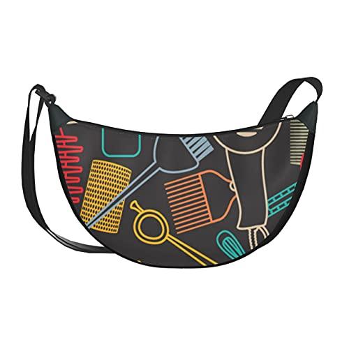 Bolso bandolera para mujer, bonito y hermoso, de dibujos animados, rizador de pelo para niña, bolsos de mano para mujer, bolsos de hombro...