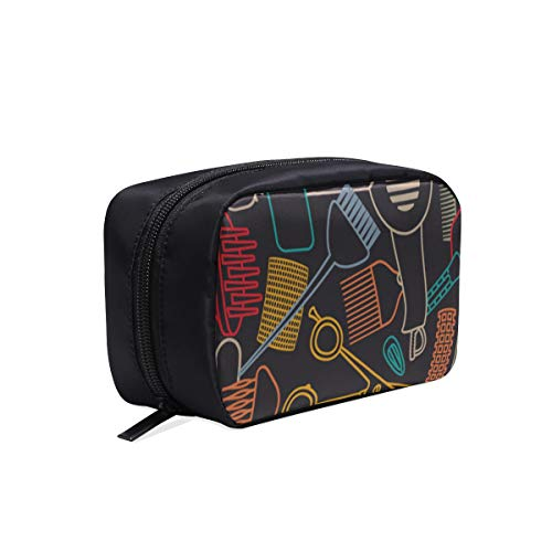 Bolsas traseras para mujer Moda Linda hermosa niña de dibujos animados Rizador de pelo Bolsa de viaje Mujer Bolsa de moda colorida Bolsa de...