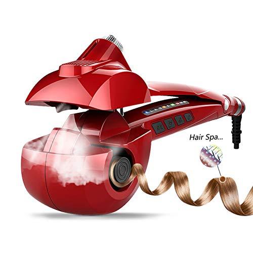 MENQANG Rizador Automático, Rizador Vapor Cerámico con tres temperaturas y tres direcciones de rizado, nutre el cabello y crea rizos...