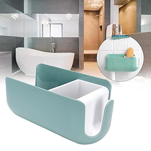 CUTULAMO Estante para baño, diseño de Muestra Soporte Multifuncional para secador de Pelo ABS sin Perforaciones para secador de Pelo...