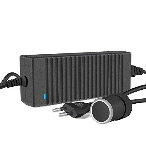 KOYOSO Transformador 220V a 12V, 120W 10A Convertidor Fuente de Alimentación Adaptador de CA a CC 100V/110V-220V/230V/240V Adaptador Coche