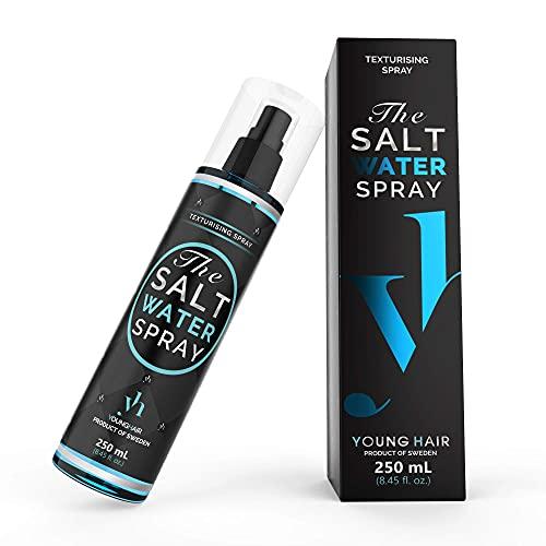 YoungHair The Salt Water Spray, Spray de Agua Salada para el Cabello ¡El secreto para aumentar tus Rizos, Volumen o Ondas Surferasuna...