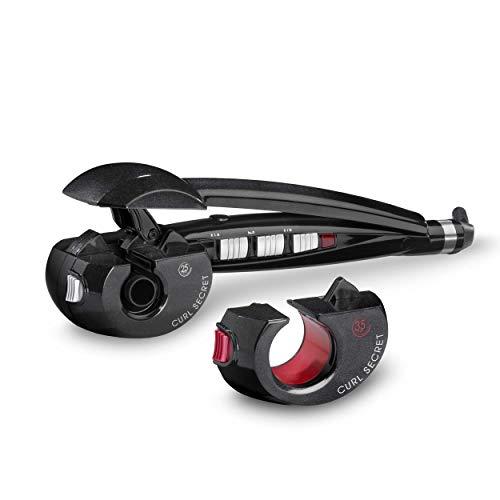 BaByliss C1300E Rizador de pelo automático con 2 cabezales, 100% automático, doble calentador cerámico, color negro