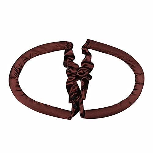 Ganghuo Curling Band Rizador de pelo en forma de U esponja perezosa botón rizador ningún calor que se encrespa hierro conjunto material de...