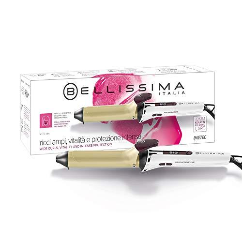 Imetec Bellissima GT15 400 - Rizador de pelo, revestimiento de cerámica y queratina, 7 niveles de temperatura de 150ºC a 210ºC,...
