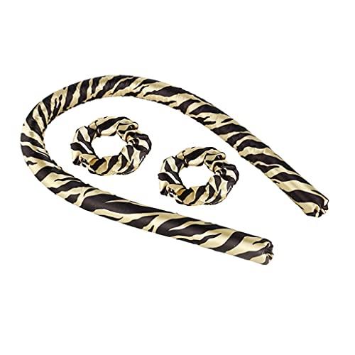 GREEN&RARE Corbatas para el cabello, sin calor, sin calor, esponja suave, esponja, rizadores de pelo, para cabello largo, herramientas de...