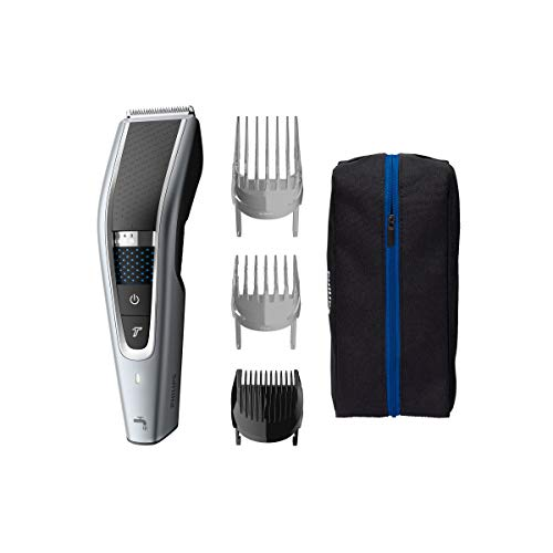 Philips Hairclipper series 5000 Cortapelos lavable HC5630/15 Tecnología Trim-n-Flow PRO 28 posiciones de longitud (0.5-28mm) 90min de...
