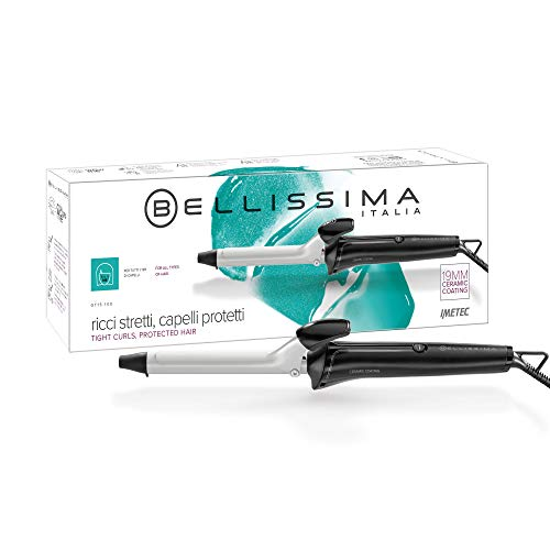 Imetec Salon Expert GT15 100 Rizador de pelo, rizos brillantes y definidos, diámetro 19.mm, revestimiento de cerámica, calentamiento...
