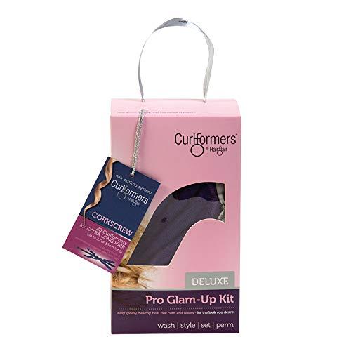 Curlformers - Set de 20 rizadores de pelo para tirabuzones - No requieren calor - Con 1 aplicador - Para cabellos de hasta 55cm (22') de...