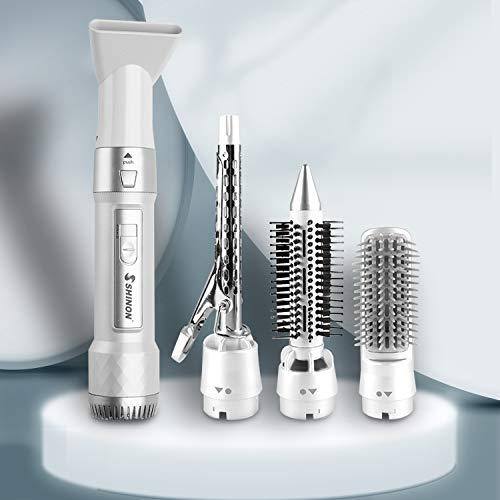 2021NEW - Secador de pelo con rizador 4 en 1 para todo tipo de cabello.