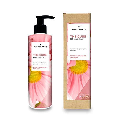 THE CURE Acondicionador sin sulfato sin siliconas -Tratamiento hidratante cabello- Acondicionador natural/Ecológico | Acondicionador pelo...