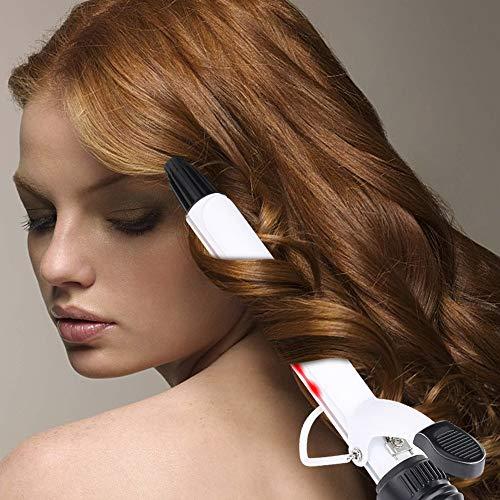 Rizador del tubo de cerámica con forma de onda grande y rizador infrarrojo de múltiples funciones para proteger el pelo sin la lesión,...