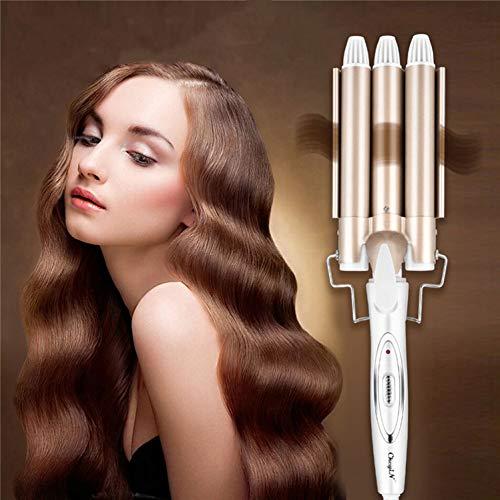 Rizador de pelo | 3 barriles | rizos grandes | ondas | dispositivo para el pelo | rulos | hierro ondulado