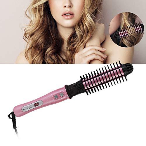 Rizador de pelo 2 en 1, herramienta de peinado, peine eléctrico, pantalla LCD, rizador de pelo automático, para peluquería, Rizadora Pelo...