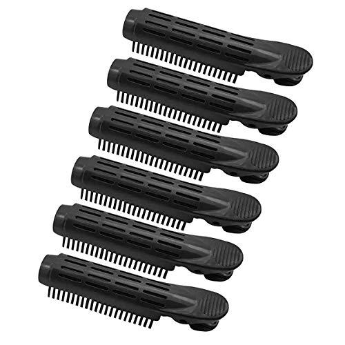 Pinza para dar volumen a la raíz del cabello, pinza para rizador de pelo con volumen de raíz de agarre automático, herramienta para...