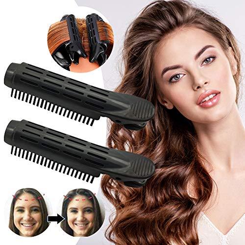 Pinza De Pelo para Dar Volumen, Pinza Para el Pelo Esponjosa, Pinza para dar volumen a la raíz del cabello, Rizador de raíces y rizador de...