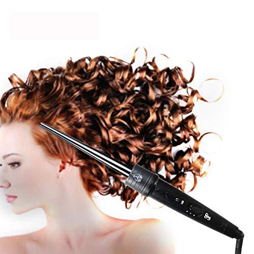 Plancha rizadora tres en uno, rizador de cabello cambiante, barra para rizar el cabello cambiante, peine de pelo liso, plancha de pelo de...