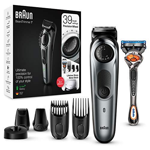 Braun BT7240 - Recortadora Barba y Cortapelos para Hombre, Cuchillas Metálicas Afiladas de Larga Duración, 39 Ajustes de Longitud, Color...