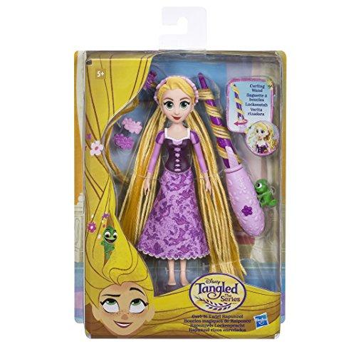 Disney Princess- Enredado la Serie Rapunzel's Curl 'n Twirl (Hasbro E0180EU4)