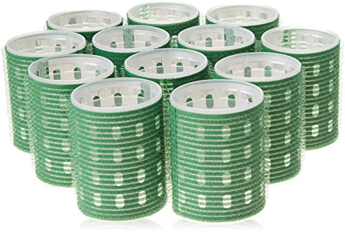 Fripac-Medis Thermo Magic Rollers - Rulos (12 unidades, 48 mm de diámetro), color verde