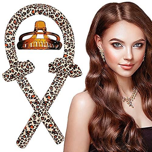 Silk Hair Curler - Rizador de pelo para mujer con aguja para el pelo, rizador sin calor